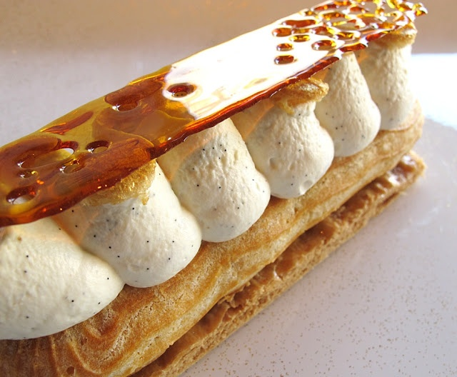 Week-end éclair Fauchon - Eclair Saint Honoré -- oh how I wish this was gluten free!