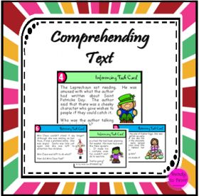My class love these!! Comprehending text task cards - celebration themes (inferencing and retrieving information)