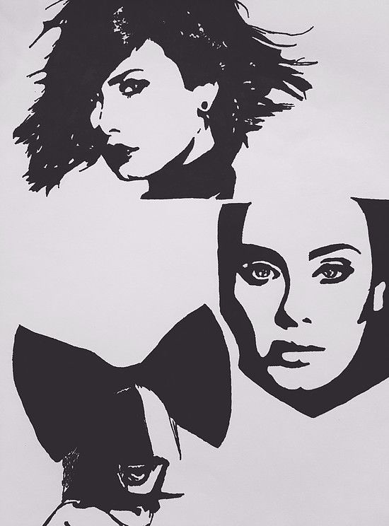 Favourite Female Artists  Pop art of Demi Lovato, Adele and Sia