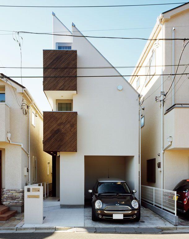 CASE 074 | 光を捉える狭小住宅(東京都大田区) |ローコスト・低価格住宅|狭小住宅・コンパクトハウス | 注文住宅なら建築設計事務所 フリーダムアーキテクツデザイン