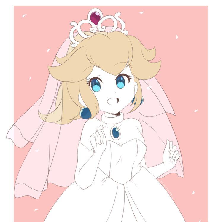 10+ Peach wedding dress mario ideas