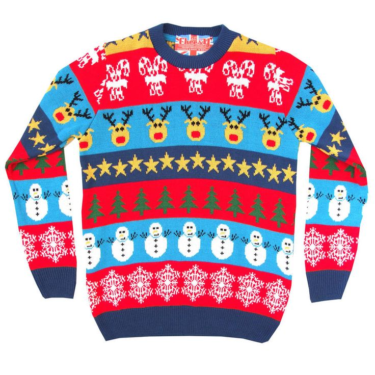 boxing day mashup knitted christmas jumper by cheesy christmas jumpers | notonthehighstreet.com