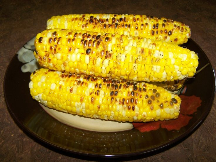 Grilled Corn on the Cob | food | Pinterest