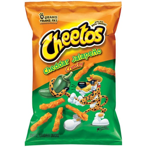 Cheddar Jalapeno Cheetos another obsession