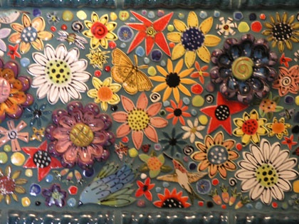 Mexican Tile Backspalsh Kitchen Remodel Pinterest