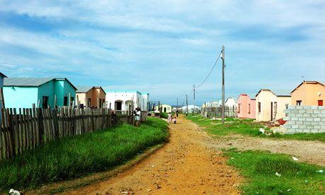 New Brighton township in Port Elizabeth, South Africa