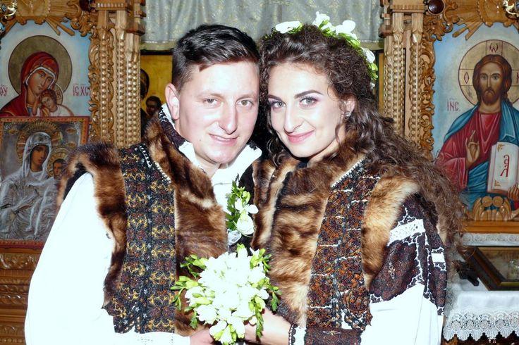 Ana și Viorel. Nuntă tradițională pe plai bucovinean