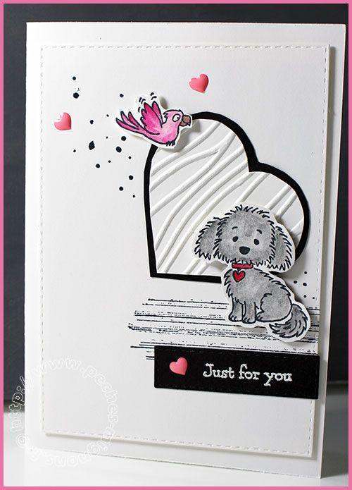 Just for you... Carte Scrap #614 - Stampin'up! Bella & friends
