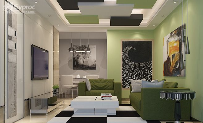 False ceiling drywall saint gobain gyproc india a for Finesse interior design home decor st catharines on