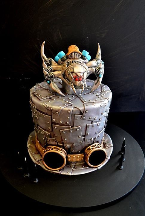Image result for Steampunk themed cake