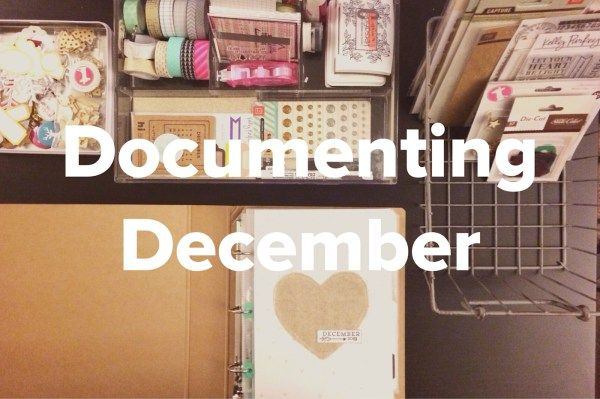 Documenting December--prepping for a December Daily journal