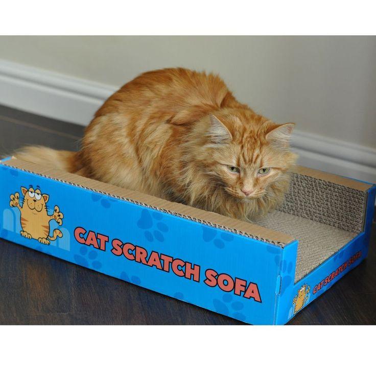 Cat Scratch Sofa Lounge-Cat-Cat Scratch Sofa-Cat Scratcher-Cats-Sofa-Lounge