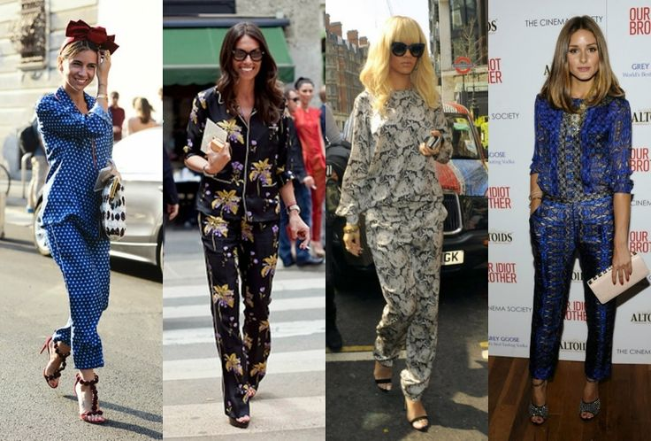 """Here's my first new """"Curlitalk"""" post about trends for spring 2016 - """"Taking It to the Streets Pajama Style""""! Check it out! http://curli2007.blogspot.com/2016/03/spring-trends-2016-taking-it-to-streets.html"""