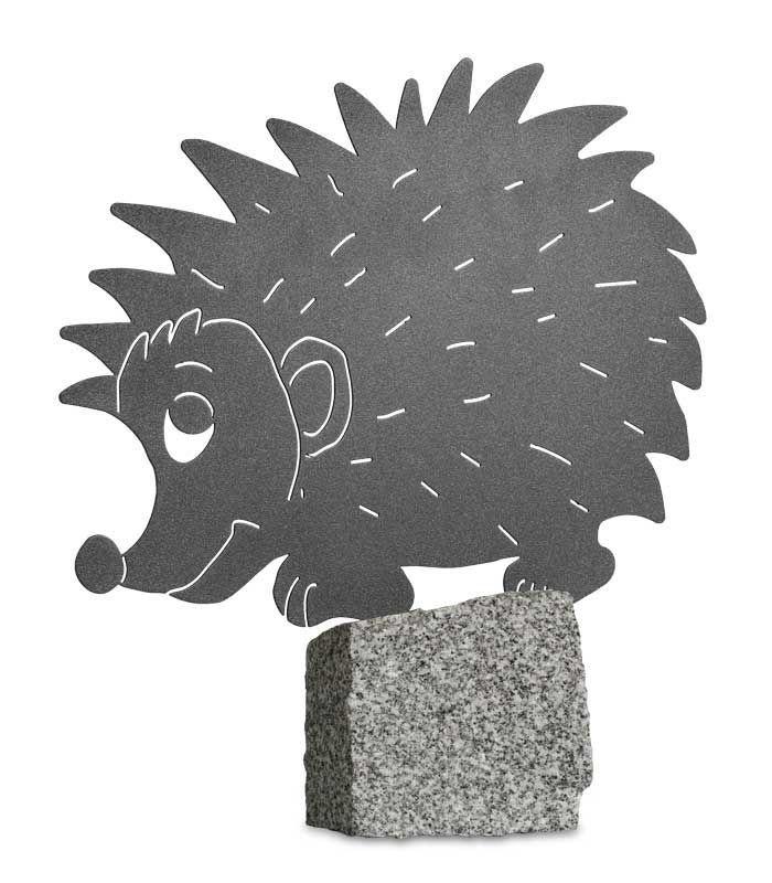 Gartenfigur Igel Grafitgrau Gartenfigur Grafitgrau Igel Moose Art Art Animals