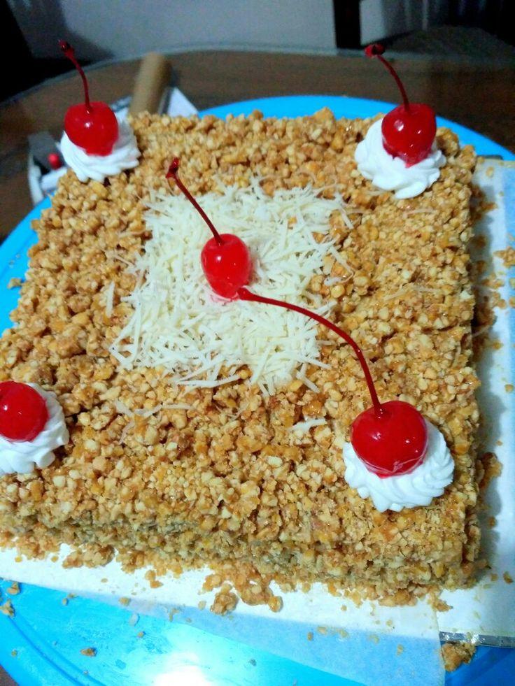 Moca nougat Cake