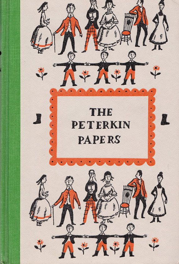 The Peterkin Papers (Junior Deluxe Edition) by Lucretia P. Hale, illustrated by Ezra Jack Keats
