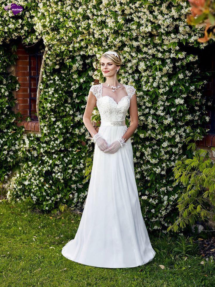 Hybris, collection de robes de mariée - Point Mariage http://www.pointmariage.com/
