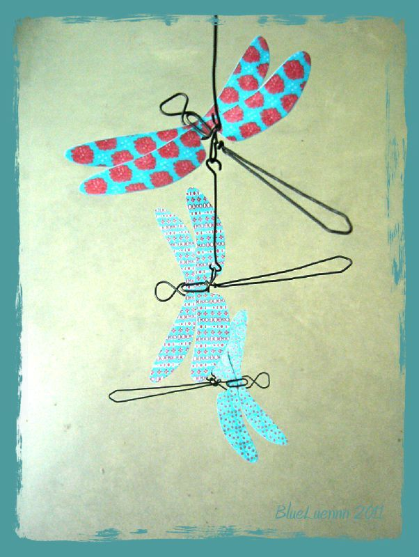 Suspension libellule