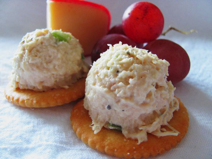 Diner Chicken Salad - bariatric friendly for soft food stage & beyond.  From Jiggly Jill.