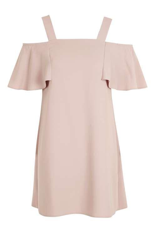 Cold Shoulder Bardot Dress