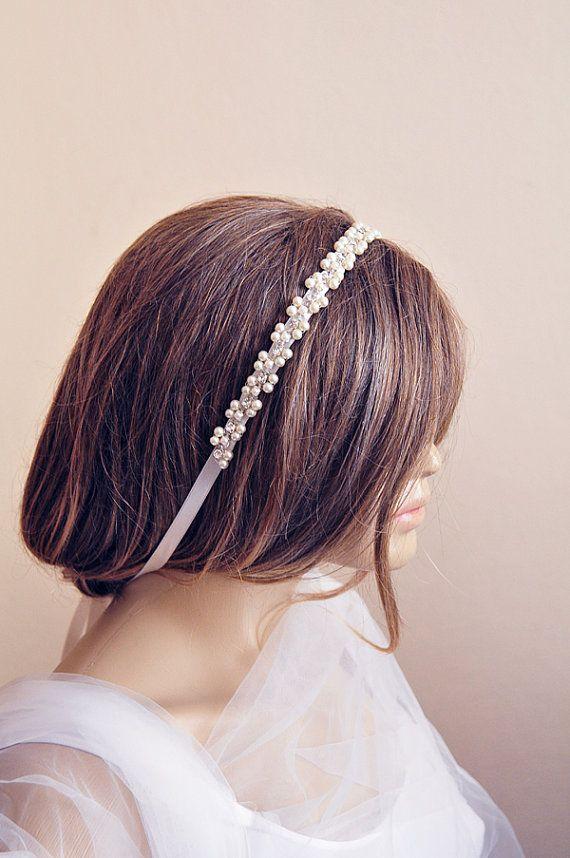 #weddingheadband #handmade #etsy #wedding #bridal #weddingaccessory #hairaccessories #etsyfinds #etsyseller