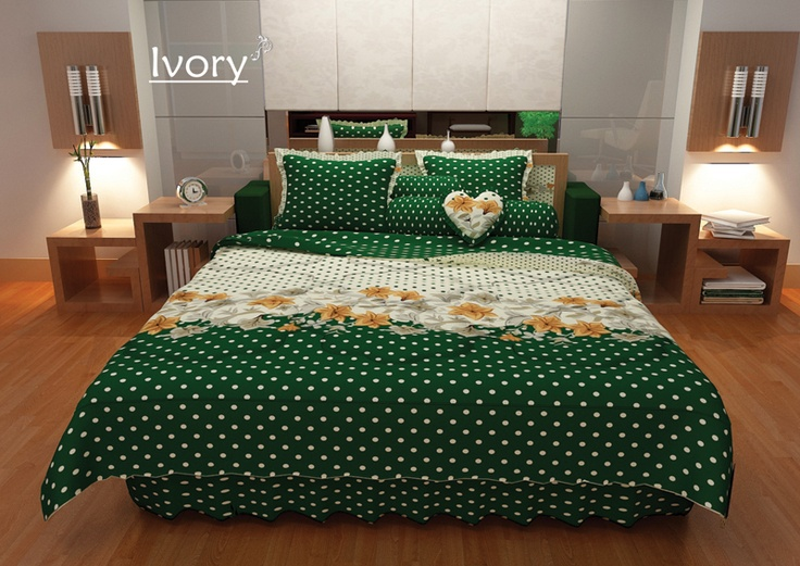 Ivory Bed Cover , New Elegance Design simply but sure