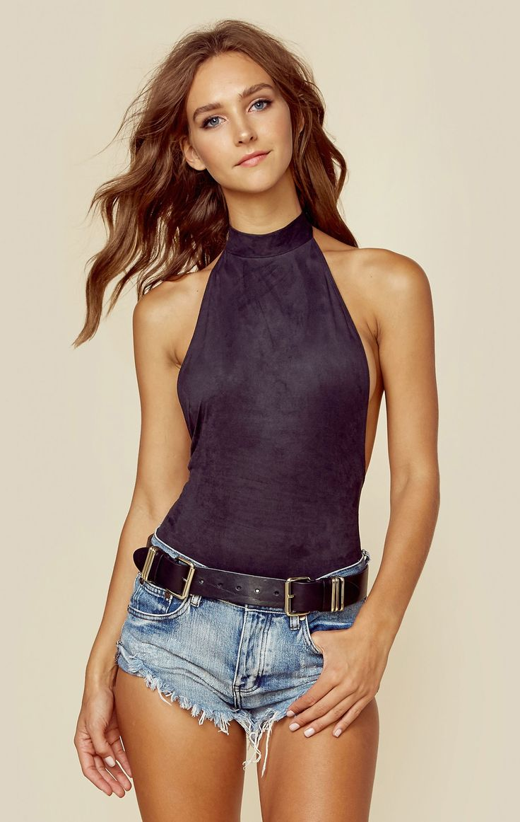 DANCING DAYS HALTER BODYSUIT | @ShopPlanetBlue