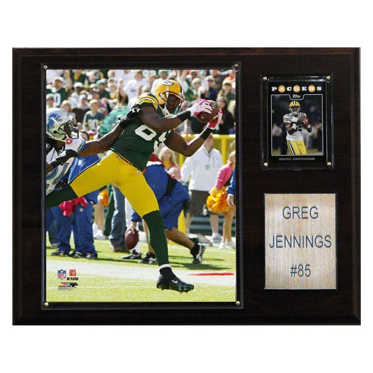 NFL 12 x 15 in. Greg Jennings Green Bay Packers Player Plaque - 1215GJENNIN