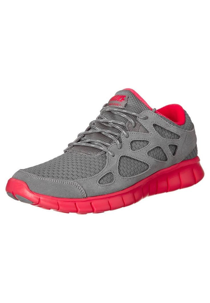 E9a6f Nike Nike Free Run grey 2 Neonrosa man shoes - footwear HOT SALE! HOT PRICE!