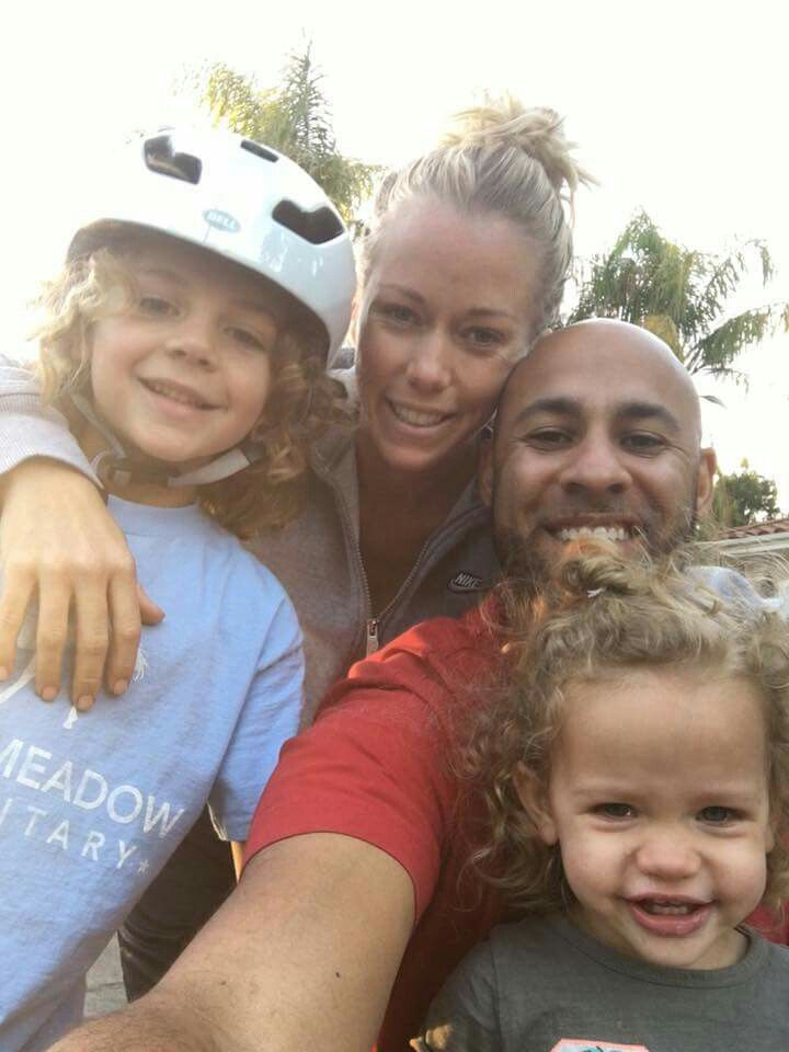 Kendra Wilkinson & Family
