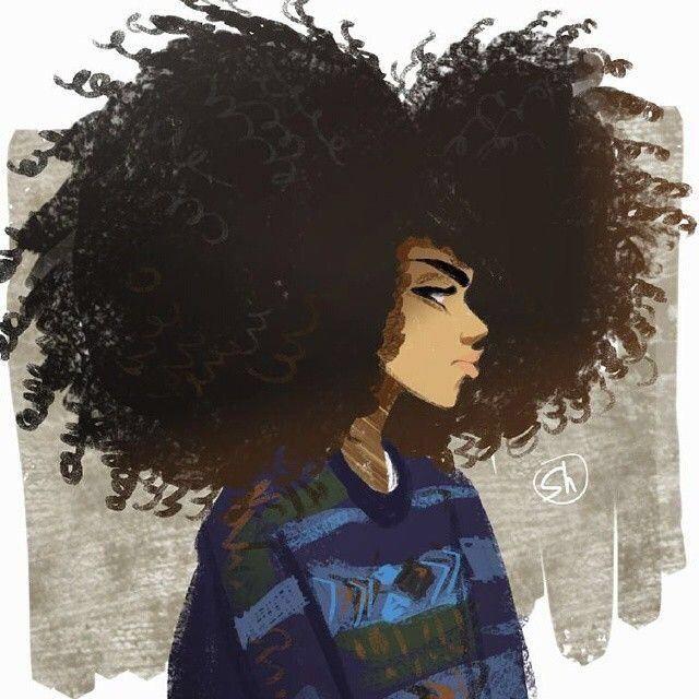 natural hair art                                                                                                                                                                                 More