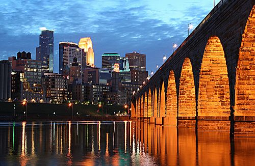 The Stone Arch Bridge: perfect for sight-seeing or as a sight for the annual summer festival