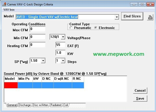 Download Carnes Vav Systems Selection Software Hvac System System Vav