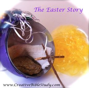 An interactive Easter story to go along with resurrection eggs & straight from the Bible!