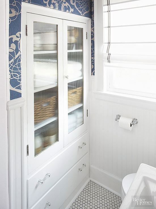 Share Tweet Pin Mail  Dear Laurel, Would you consider a blog article on bathroom storage for the small bathroom – where there is ...