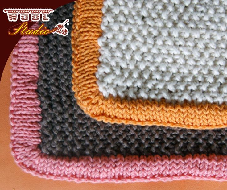 Knit your precious one a lovely thick and squishy blanket for warmth when it's cold outside. Click on the link for the pattern: http://apost.link/324. #TheWoolStudio #pattern #knitting #yarnaddicts