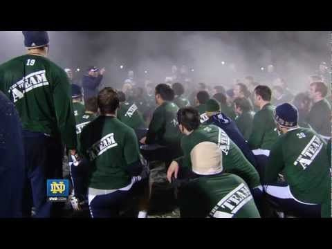 2012 Notre Dame Football Winter Workout Feature