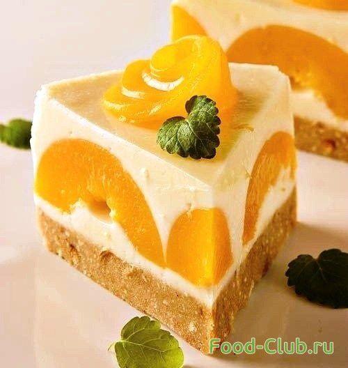 Йогуртовый торт без выпечки / Торты и сладкие пироги / Кулинарные рецепты - Фуд-клаб.ру