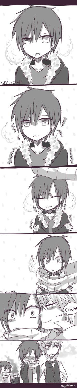 Shizaya: Are you Cold? *^* Orihara Izaya x Heiwajima Shizuo, Yaoi, Love, Hate, Durarara!!