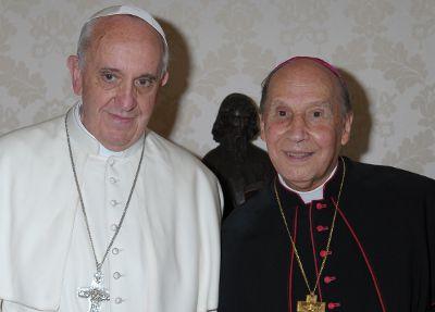 El Prelado, en audiencia con Papa Francisco.