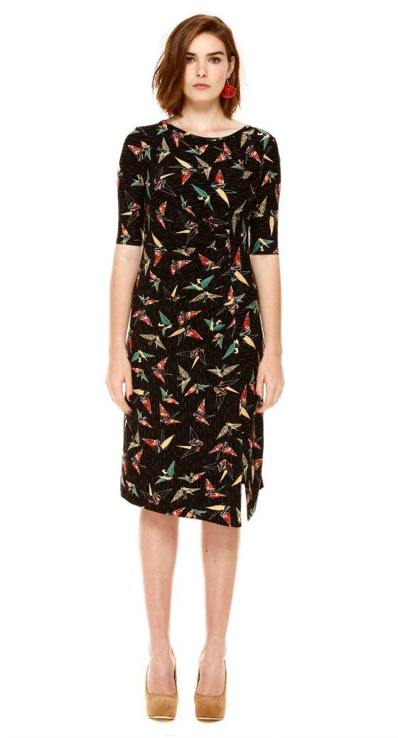 Maiocchi paper crane dress
