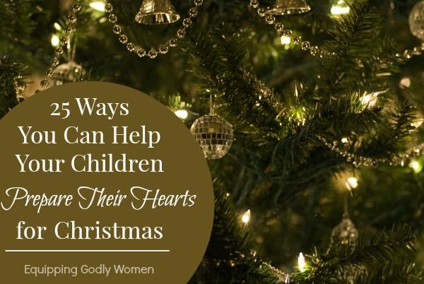 Help your children focus on the real meaning of Christmas this year with these 25 ways you can help your children prepare for Christmas.