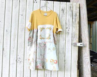 Serbatoio vestito bohemien vestito da estate arte da