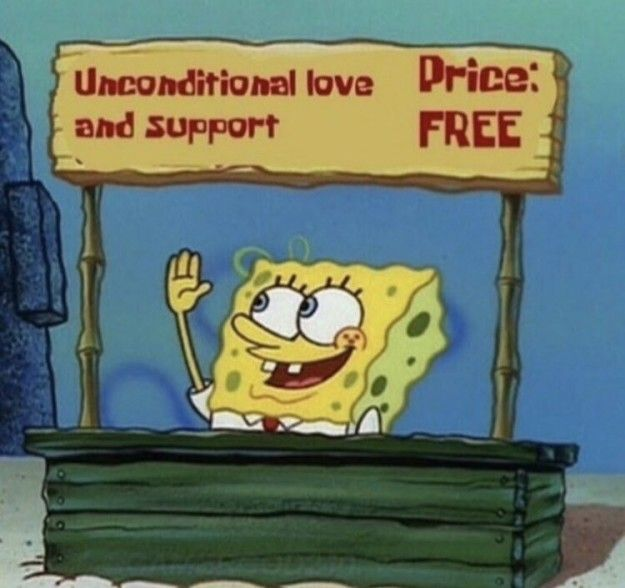 Who wants some validation and support?