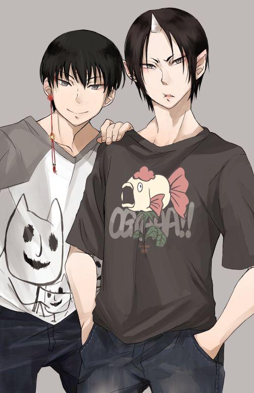 Hakutaku & Hoozuki | Hoozuki no Reitetsu #anime