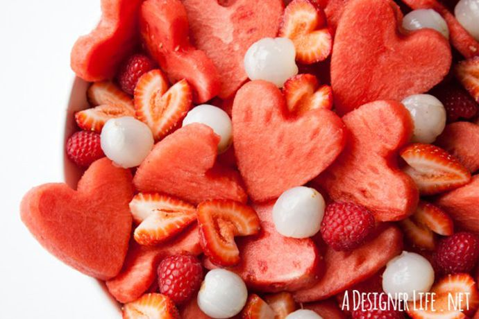 These healthy Valentine's Day treats are made with fresh fruit and are so delicious that we promise your kids will still love you if you serve them.