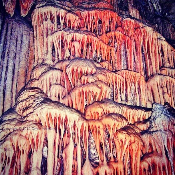 Limestone formations. Jenolan Caves. 150 km west of Sydney. Copyright © 2012 Ömer Incekara