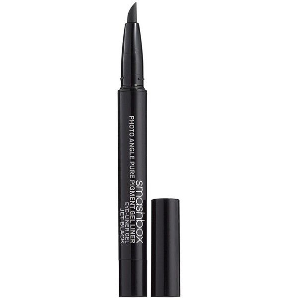 Smashbox Photo Angle Pure Pigment Gel Liner ($24) ❤ liked on Polyvore featuring beauty products, makeup, eye makeup, eyeliner, smashbox eye liner, eye makeup remover, gel eyeliner, paraben free eyeliner and gel eye-liner