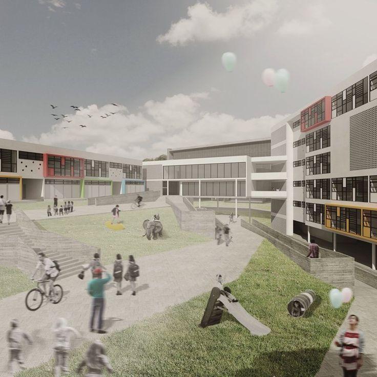CEU ALVARENGA – Centro de Educação Unificado Sustentável de São Bernado do Campo – SP., São Bernardo do Campo, 2014 - Sergio Faraulo