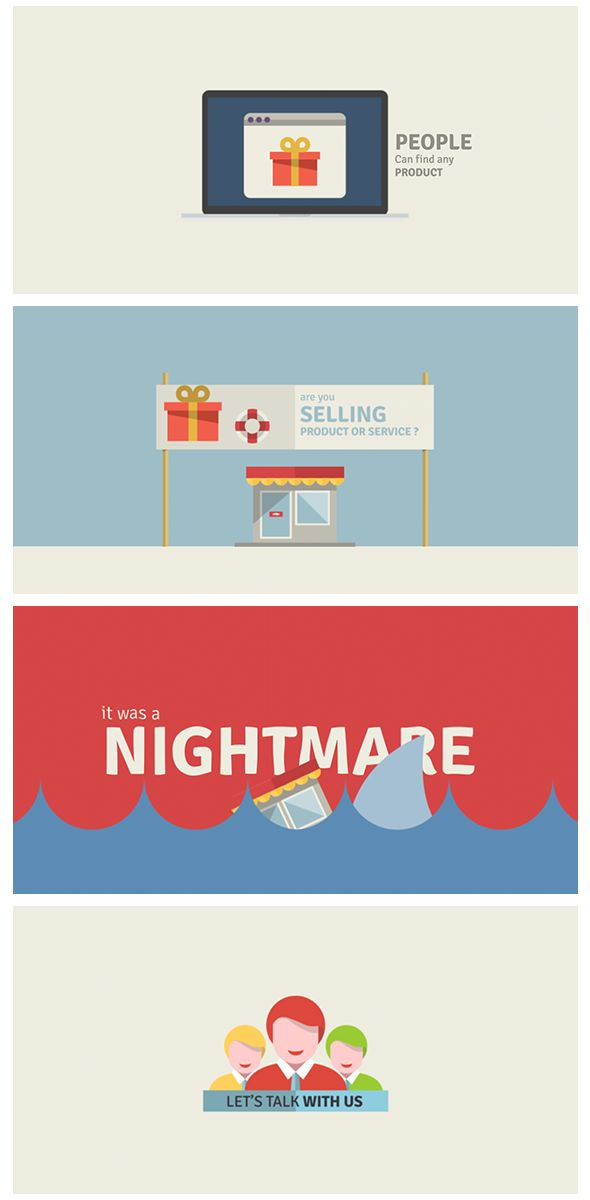 After Effects - Seo Service Promotion by Motion Trooper, via Behance
